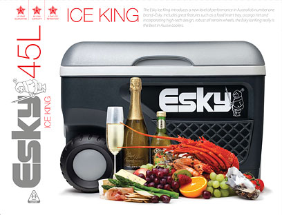 Esky Ice King Product Photography