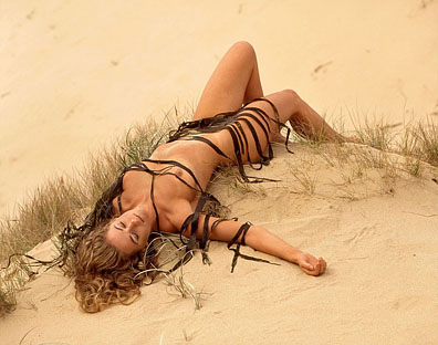 Sand Dune Model Life Photography