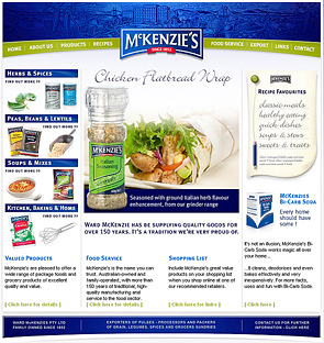 Food McKenzie's Web Page