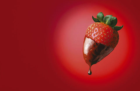 Strawberry Food Product Advertising Photography